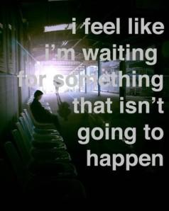 menunggu keajaiban
